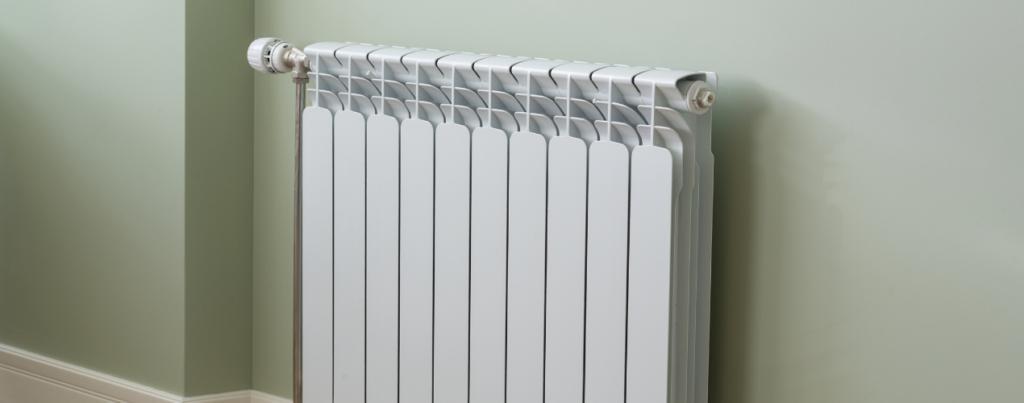 Centrale verwarming aan de muur