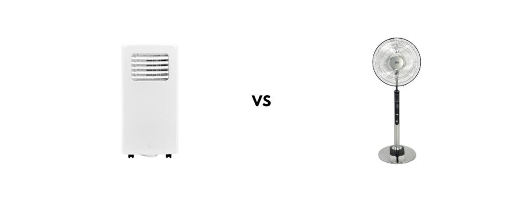 Verschil airco ventilator Honeywell